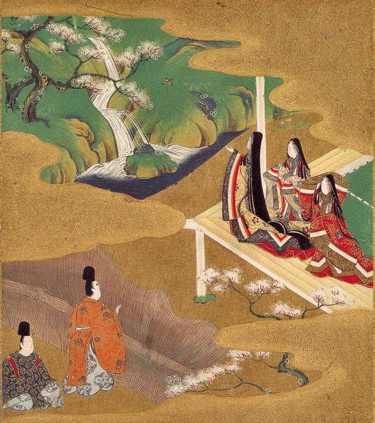 Illustration of the Genji Monogatari (Wakamurasaki) - Tosa Mitsuoki