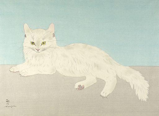 White Cat - Tsuguharu Foujita