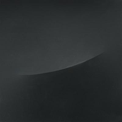 Particolare di ovale in nero, 1973 - Turi Simeti