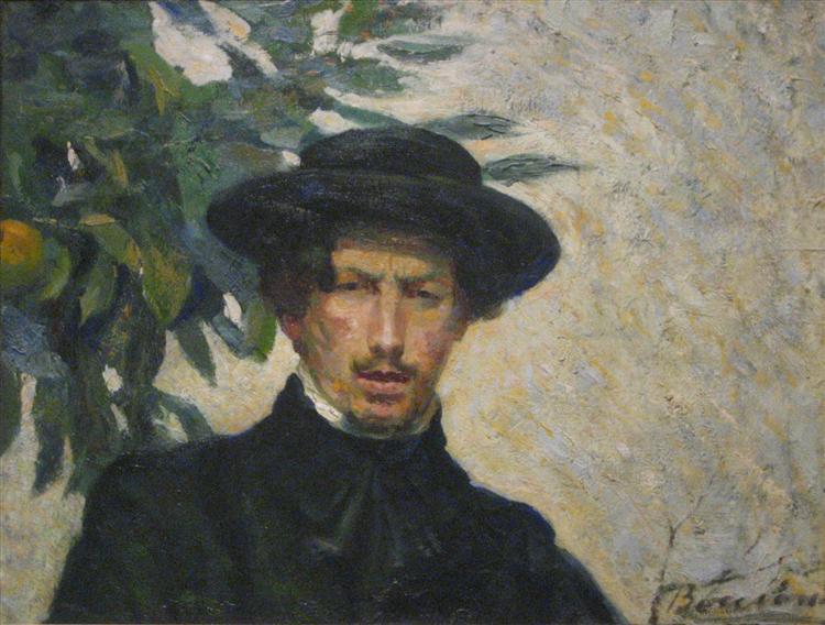 Self-portrait - Umberto Boccioni