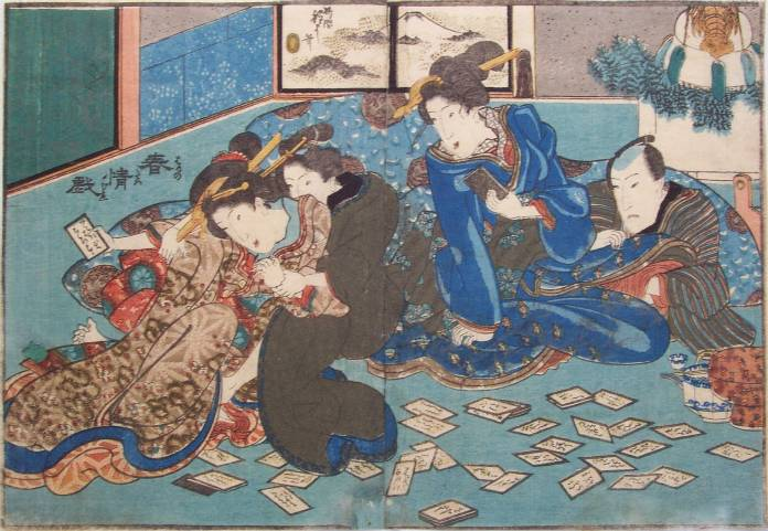 Playing Cards, c.1835 - Utagawa Kunisada