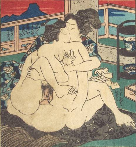 Tokaido 53 Stations, #D, c.1835 - Utagawa Kunisada