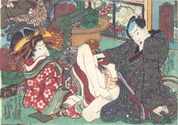 The High-ranking Courtesan, 1835 - Utagawa Kunisada