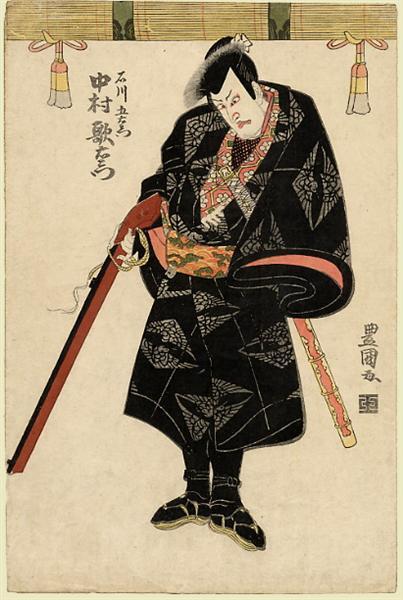 Nakamura Utaemon, c.1810 - Utagawa Toyokuni