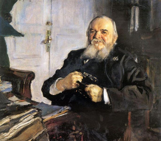 Portrait of Alexander Turchaninov, 1906 - Valentin Serov