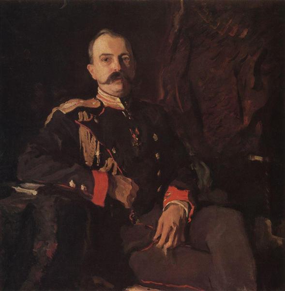 Portrait of Grand Duke Georgy Mikhailovich, 1901 - Valentin Serov