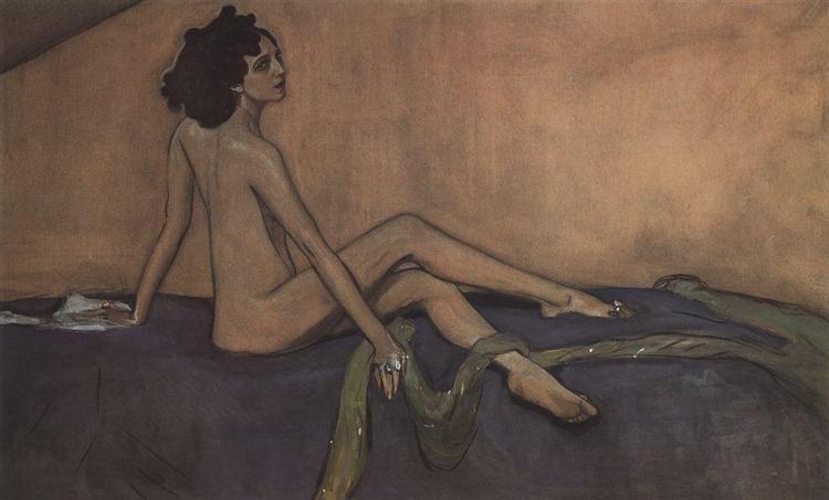 Portrait of Ida Lvovna Rubinstein - Valentin Serov