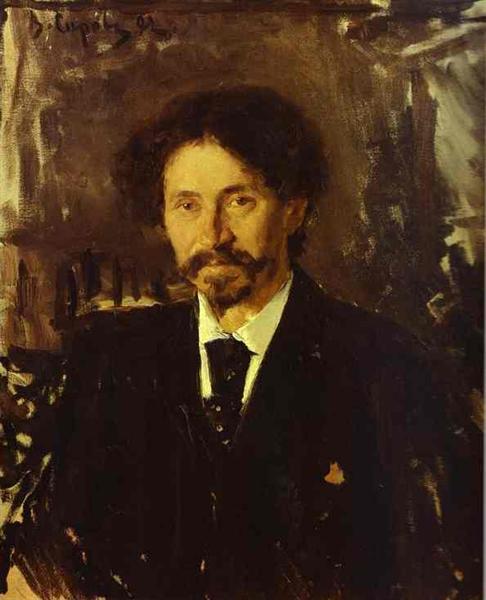 Portrait of the Artist Ilya Repin, 1892 - Valentin Serov