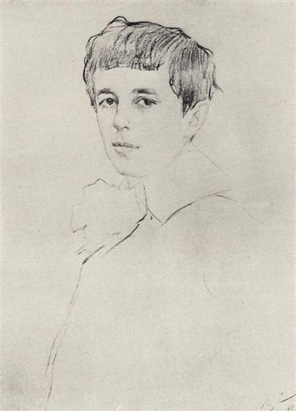 Portrait of Yuri Morozov, 1905 - Valentin Serov