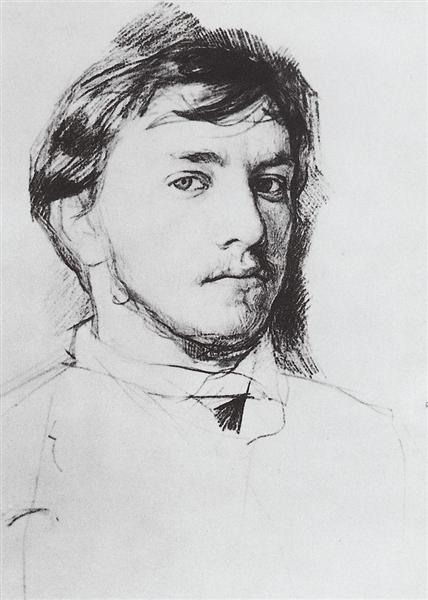 Self-Portrait, 1885 - Valentin Serov