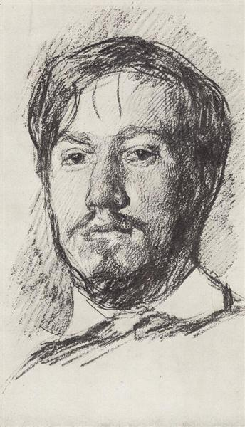 Self-Portrait, 1887 - Valentin Serov