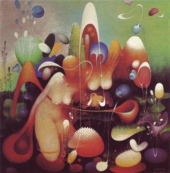 Spiral Galaxy, 1981 - Vangel Naumovski