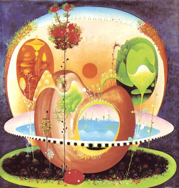 Sunset Garden, 1968 - Вангел Наумовскі