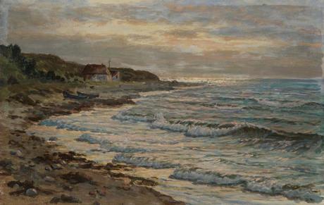 Seaside scene. Norway - Vartan Mahokian