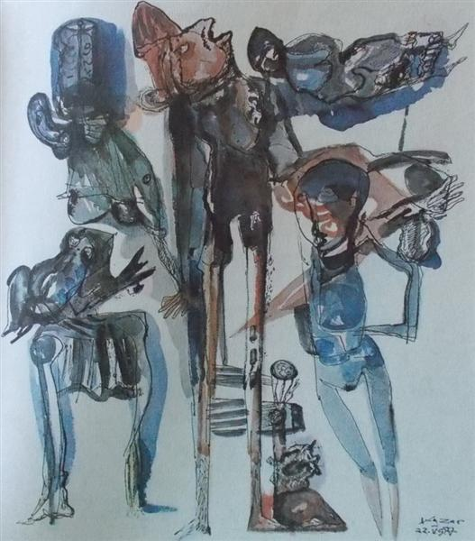 Untitled, 1984 - Vasile Kazar