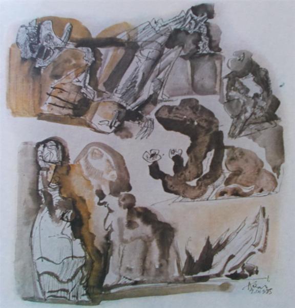Untitled, 1985 - Vasile Kazar