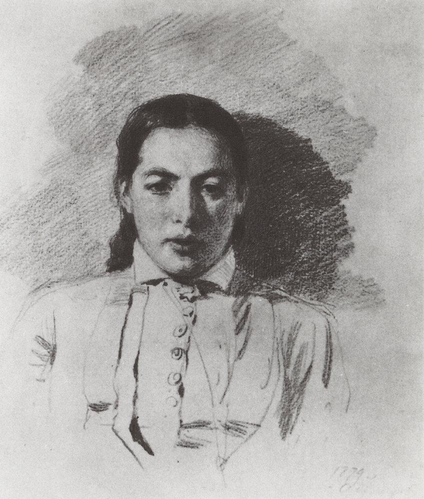 Vasily Polenov Portrait-n-v-yakunchikova-1879