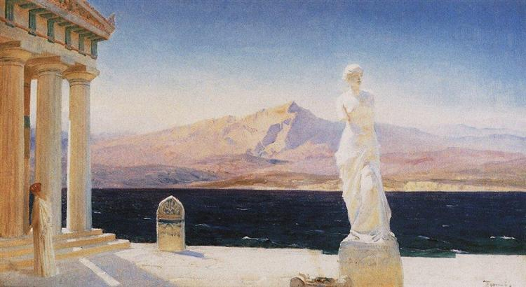 The Ghosts of Hellas, c.1905 - Vassili Polenov