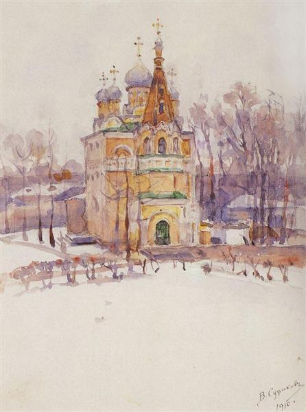 Church, 1910 - Vasily Surikov