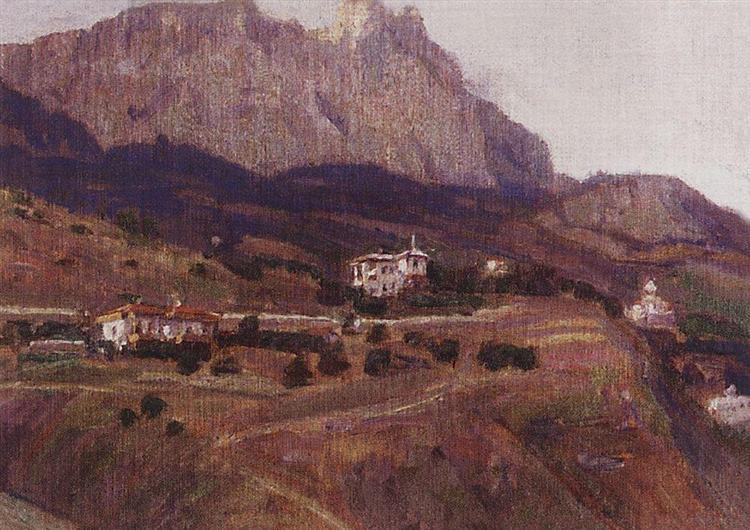 Crimea. Ai-Petri., 1908 - Vasily Surikov