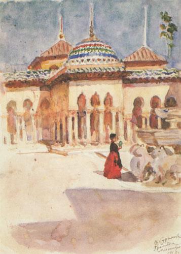 Granada. Alhambra., 1910 - Vasily Surikov