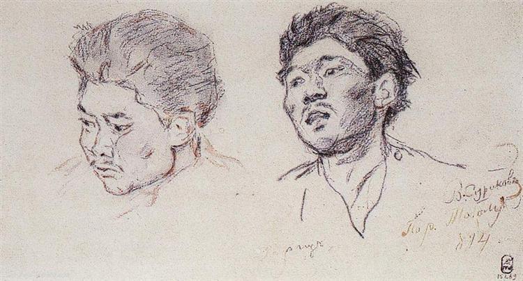 Kyrgyz, 1894 - Vasily Surikov