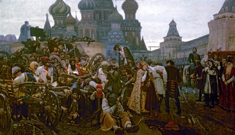 Morning of the Strelets' Execution - Vasily Surikov