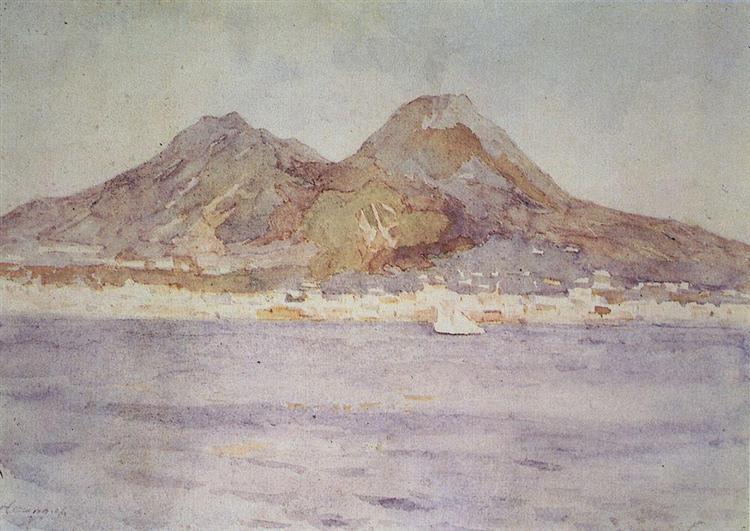 Naples, 1884 - Vasily Surikov