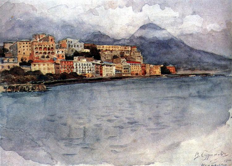 Naples, 1900 - Vasily Surikov