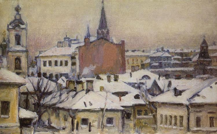 View of Kremlin, 1913 - Vasily Surikov