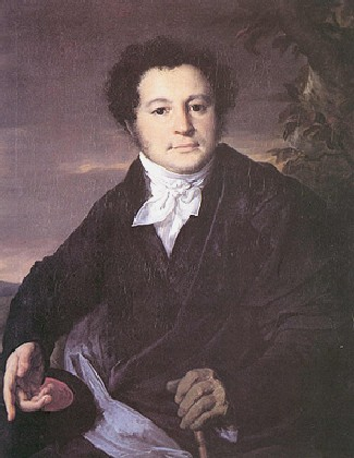 Portrait of A.A. Sannikov, 1823 - Vasily Tropinin