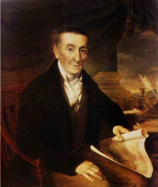Portrait of I. L. Lazarev, 1822 - Vasily Tropinin