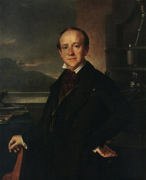 Portrait of N. A. Selivanovsky - Василий Тропинин