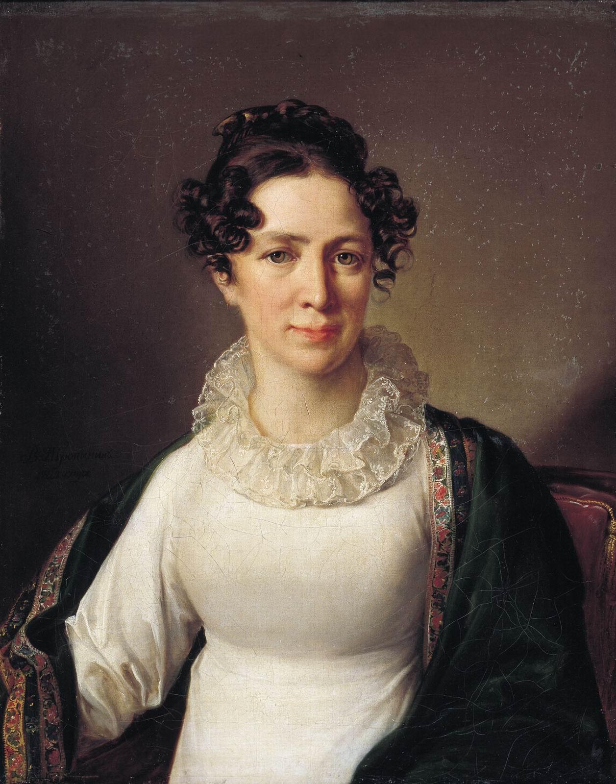 Portrait of the artist s sister vatropinin