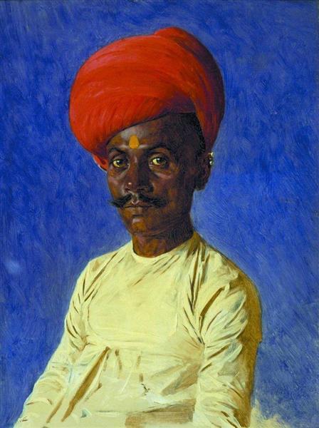 Bania (trader). Bombay, 1874 - 1876 - Vasily Vereshchagin