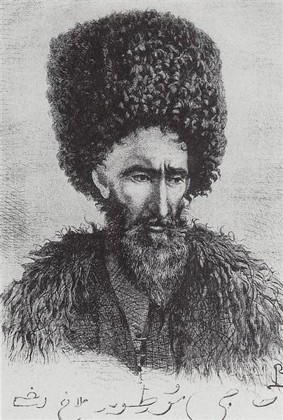 Lezgin Haji Murtuz-agha from Dagestan, 1864 - Vasily Vereshchagin