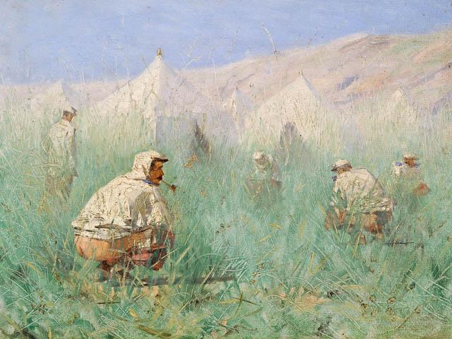 Russian Camp in Turkestan - Vasily Vereshchagin