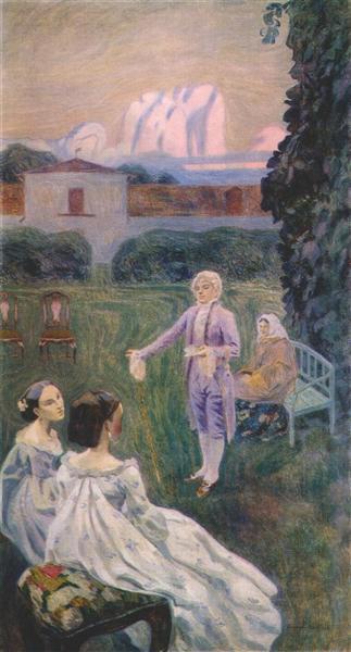 Harmony, 1899 - 1900 - Віктор Борисов-Мусатов