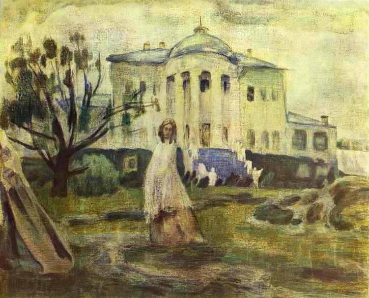 Призраки, 1903 - Виктор Борисов-Мусатов