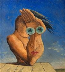 Composition with Portrait - Victor Brauner