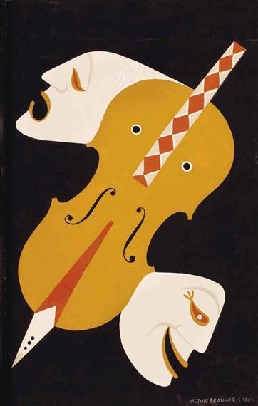 Masques - Victor Brauner