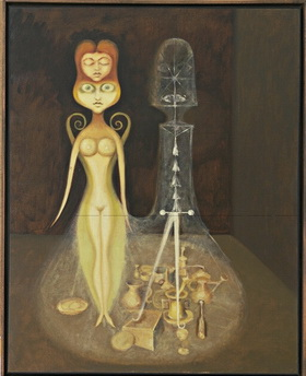 The Inner Life (Nude and Spectral Still Life), 1939
