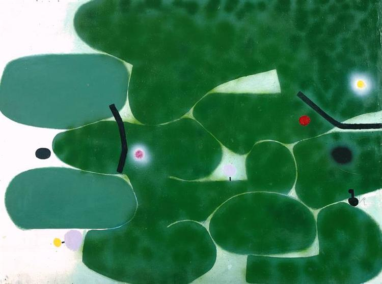 The Green Earth, 1979 - 1980 - Victor Pasmore
