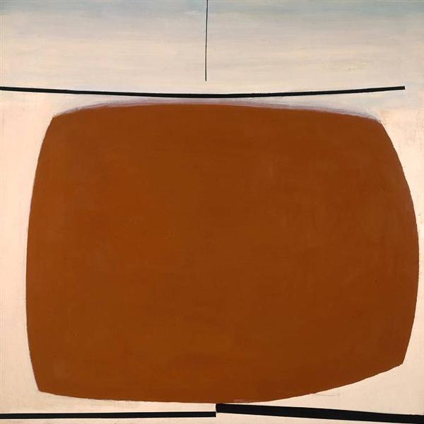 Yellow Abstract - Victor Pasmore