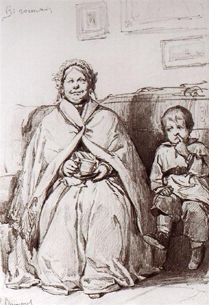 Away, 1871 - Viktor Vasnetsov
