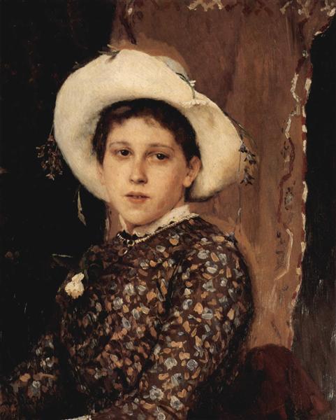 Portrait of Tatjana A. Mamontowa, 1884 - Viktor Vasnetsov
