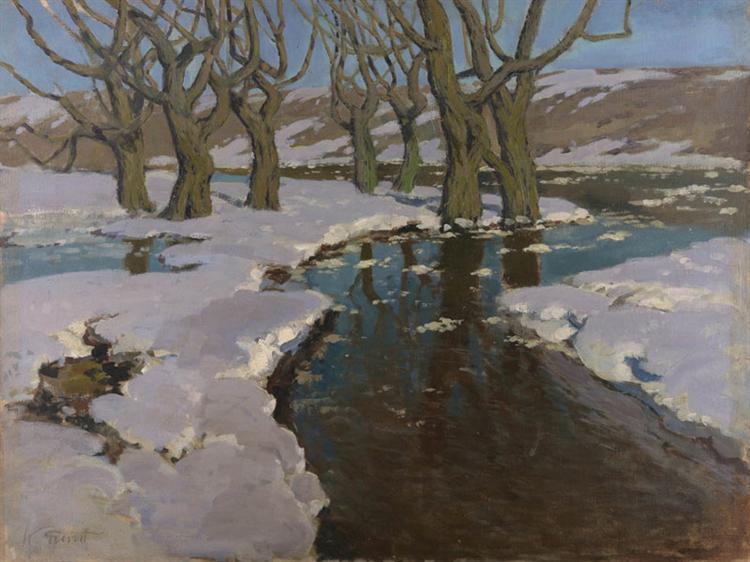 Early Spring, 1899 - Вільгельм Пурвітіс