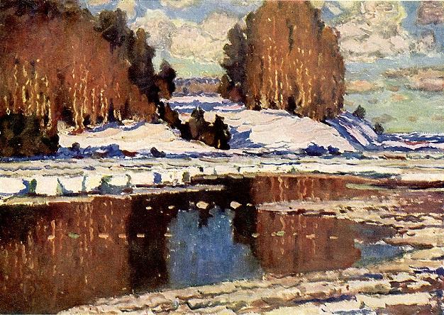 Pavasaris - Вільгельм Пурвітіс