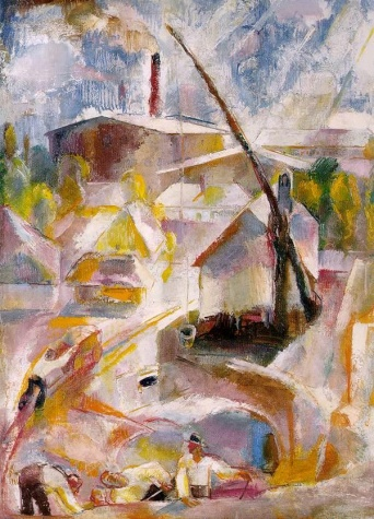 Sand Mine (Igal), 1927 - Vilmos Aba-Novak