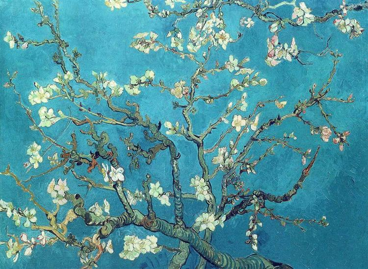 Branches with Almond Blossom, 1890 - Vincent van Gogh